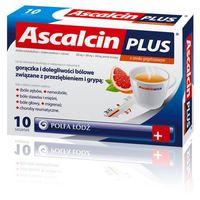 Ascalcin Plus sasetki o smaku Grejpfruta x 10