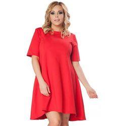 52af3d0155 suknie sukienki sukienka chabrowa yy100146 plus size 46 48 (od ...