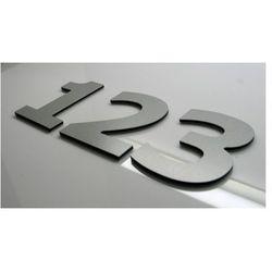 Numer, Numery, Cyfra, Cyfry na drzwi, czarne wys. 5 cm VERD