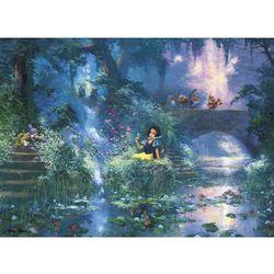 9-039239 Puzzle Królewna Śnieżka - piknik wśród kwiatów