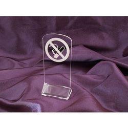 Zakaz palenia papierosów - acryl model Z004