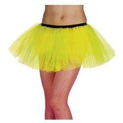 Spódniczka baletnicy tiulowa - żółta neon - stroje/przebrania dla dorosłych