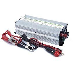 PRZETWORNICA SAMOCHODOWA 12V->230V 500W USB - EG-PWC-033