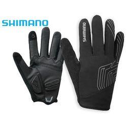 ECWGLBWMS62ML6 Rękawiczki SHIMANO zimowe cienkie czarne XXL do +10°C