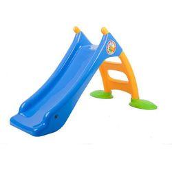 Zjeżdżalnia dla dzieci Twin Star 128cm niebieski
