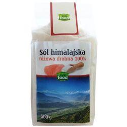 LOOK FOOD 500g Różowa Drobna 100% Sól Himalajska