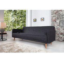 Sofa rozkładana Scandi 200cm szara - wzór 2