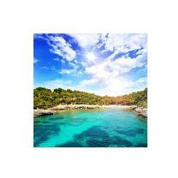 Foto naklejka samoprzylepna 100 x 100 cm - Piękne zatoki z krystalicznie czystą wodą