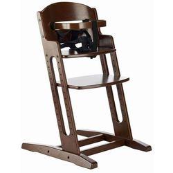 Krzesło DANCHAIR - ciemny brąz