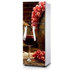 Naklejka na lodówkę - Murowana winnica - Naklejka laminowana