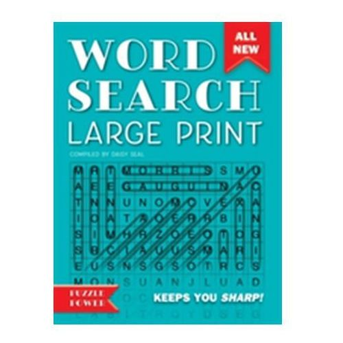 Word Search Large Print Seal, Daisy