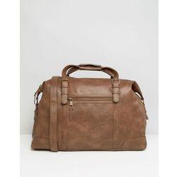 New Look Holdall Bag In Brown - Brown