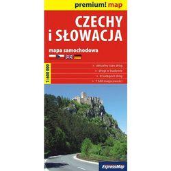 Czechy I Słowacja - Mapa Samochodowa 1:600 000 (opr. kartonowa)