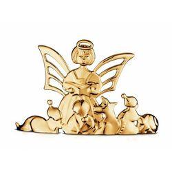 Rosendahl KAREN BLIXEN Dekoracja Świąteczna na Stół - Anioł Czytający - Pozłacana