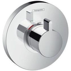 Bateria Hansgrohe Select hansgrohe bateria termostatyczna showerselect s podtynkowa highflow element zewnętrzny chrom - 15741000 15741000