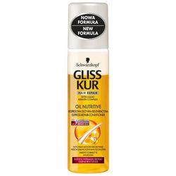 GLISS KUR 200ml Oil Nutritive Ekspresowa odżywka regeneracyjna