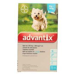 Bayer advantix Spot-on 1 ml (4 - 10 kg) - różne warianty