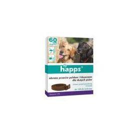 Obroża przeciw pchłom i kleszczom dla dużych psów Happs 60 cm