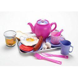 Dantoy Zestaw śniadaniowy z tacką - różowy