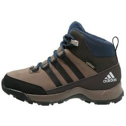 adidas Performance CW WINTER HIKER GTX Śniegowce grey blend/core black/night brown