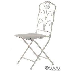 Krzesło metalowe ALURO Bertoni