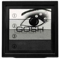 GOSH PALETA 4 CIENI DO POWIEK SMOKEY EYES BLACK 01 - BLACK 01