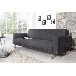 Sofa rozkładana Monako 215cm - antracyt - wzór 2