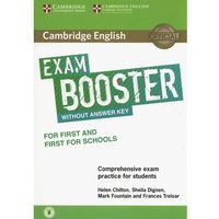 Cambridge English Exam Booster for First and First for Schools Without Answer Key with Audio (opr. miękka)