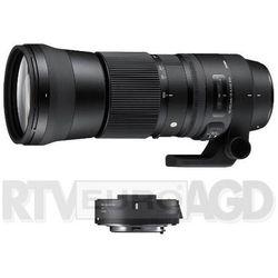 Sigma C 150-600 mm f/5-6.3 DG OS HSM Nikon + telekonwerter TC-1401