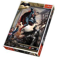 Trefl, Batman v Superman, puzzle, 260 elementów Darmowa dostawa do sklepów SMYK