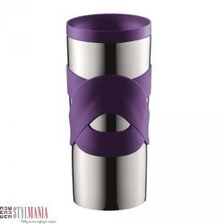 Kubek termiczny Bodum Travel Mug 350 ml szczelny fioletowy 11043-278