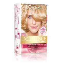 L'OREAL Excellence Creme - farba do włosów 9 Bardzo Jasny Blond