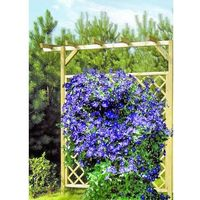 Drewniana pergola na kwiaty 2400 x 2250 x 600