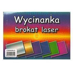 Wycinanka A5 brokat laser