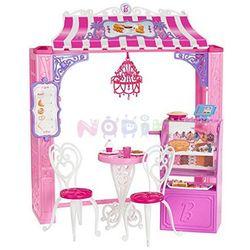 Barbie Zestawy butikowe Mattel (kawiarenka)