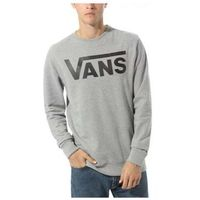 bluza VANS - Vans Classic Crew Concrete Heather-Black (ADY)
