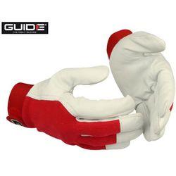 GUIDE 105W Rękawice robocze ze skóry koźlęcej rozm. 8 (223533621)