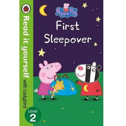 Peppa Pig: First Sleepover - Read It Yourself with Ladybird Level 2 (opr. miękka)