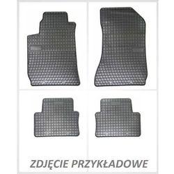 Dywaniki gumowe czarne z kompletem stoperów - Audi A1 od 2010