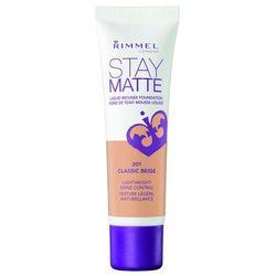 Rimmel Stay Matte Podkład matujący Classic Beige nr 201 30 ml