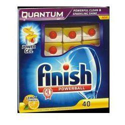 Tabletki do zmywarek Finish Powerball Quantum lemon (40 sztuk)