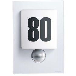 STEINEL L 680 S - lampa LED z czujnikiem ruchu PIR, 8W, szkło srebrne, ciepła biała 003838 (ZNALAZŁEŚ TANIEJ - NEGOCJUJ CENĘ !!!)