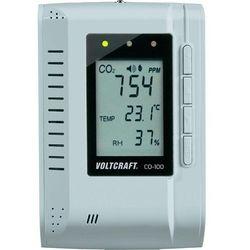 Miernik parametró powietrza Voltcraft CO-100, pomiar temperatury, wilgotności, zawartości CO2