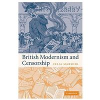 British Modernism and Censorship