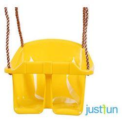 Huśtawka kubełkowa ECO - żółty