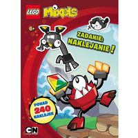 LEGO Mixels. Zadania: naklejanie!