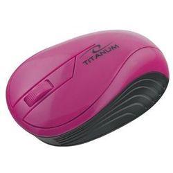 Mysz ESPERANZA TITANUM Bezprzewodowa Różowa TM115P - 5901299904824/ DARMOWY TRANSPORT DLA ZAMÓWIEŃ OD 99 zł