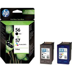 Zestaw tuszy HP SA342AE (56+57), oryginalny, czarny, kolor