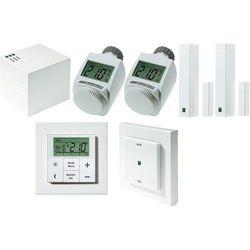 Zestaw systemu sterowania ogrzewaniem eq-3 MAX!, Bramka LAN Cube + Termostat pok. MAX! + Głowica termost. MAX! + 2x Czujn. Okien.