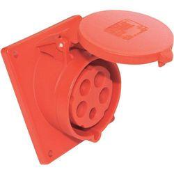 Gniazdo PCE 425-6tt ukośne, 400 V, 32 A, IP44